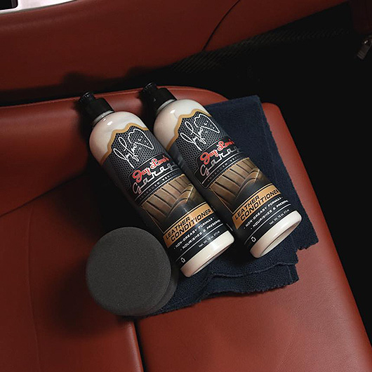 Jay Leno's Garage Interior Car Care Products