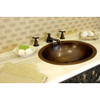 Eclectica Colette Round Copper Bathroom Basin 420mm