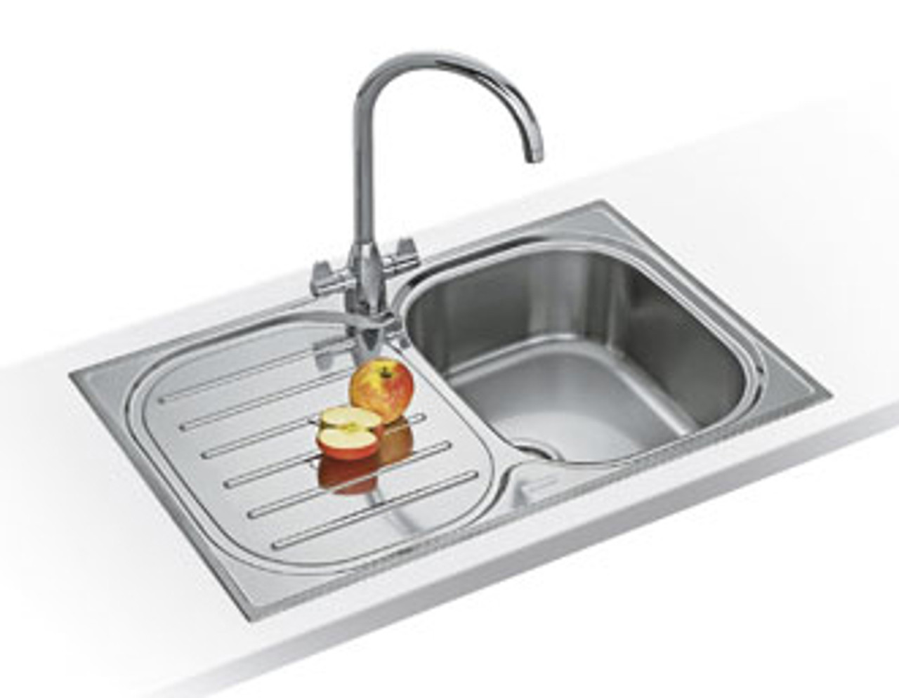 Franke Compact Plus Cpx P611 780 Stainless Steel Kitchen Sink