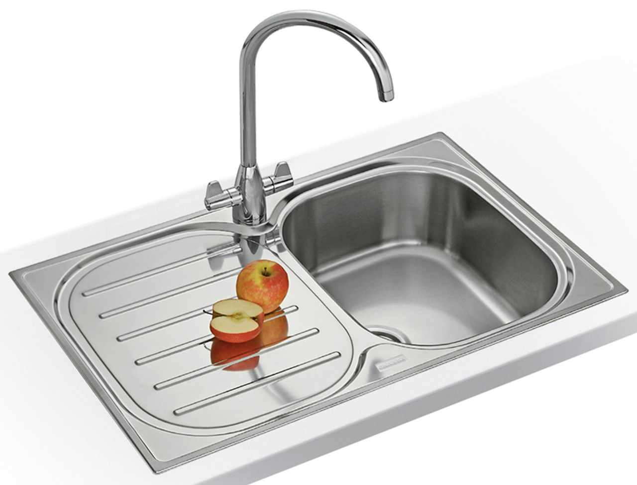 Franke Compact Plus CPX P611-965 Stainless Steel Kitchen Sink - Cut ...
