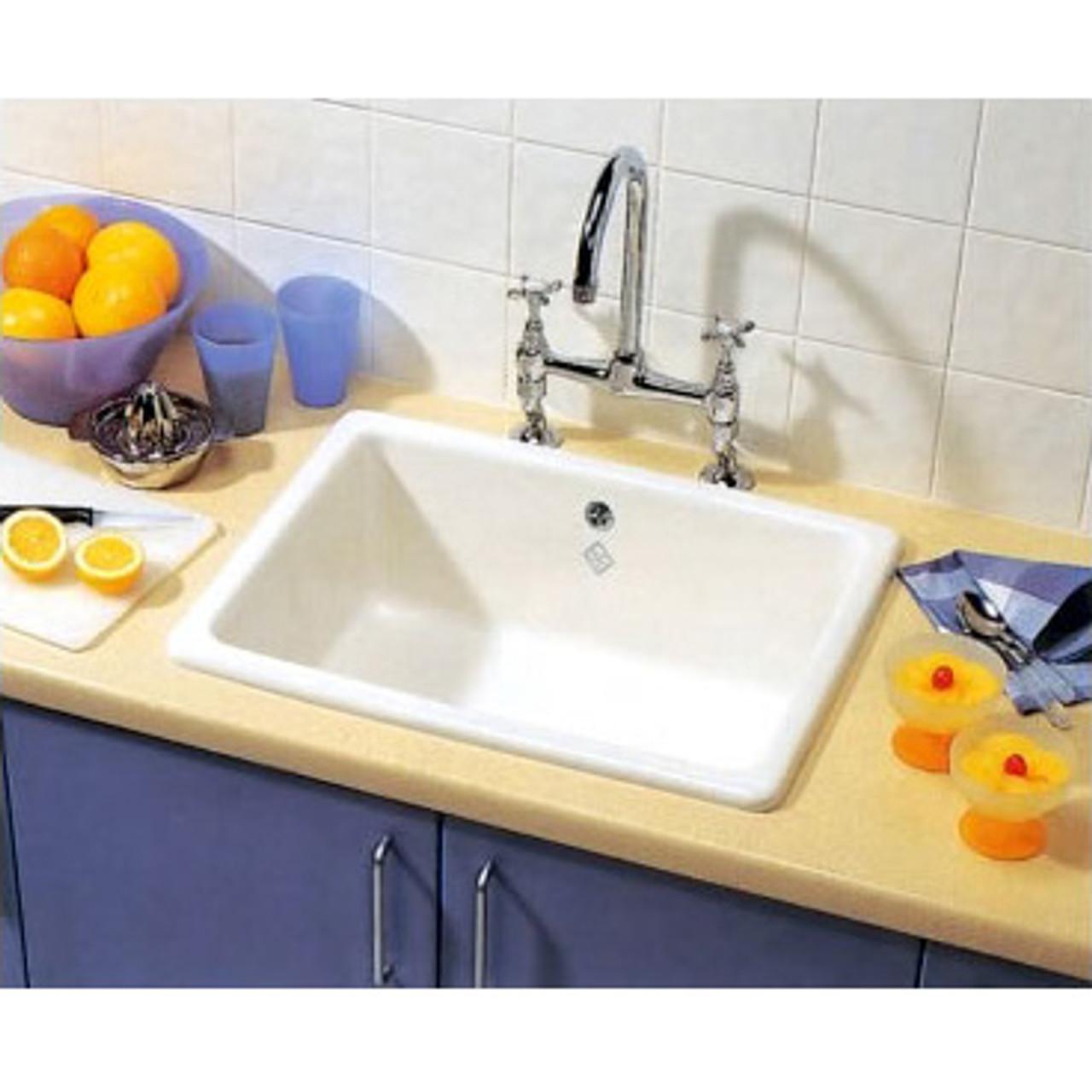 Shaws Classic Inset 800 Kitchen Sink - Cut Price Kitchens