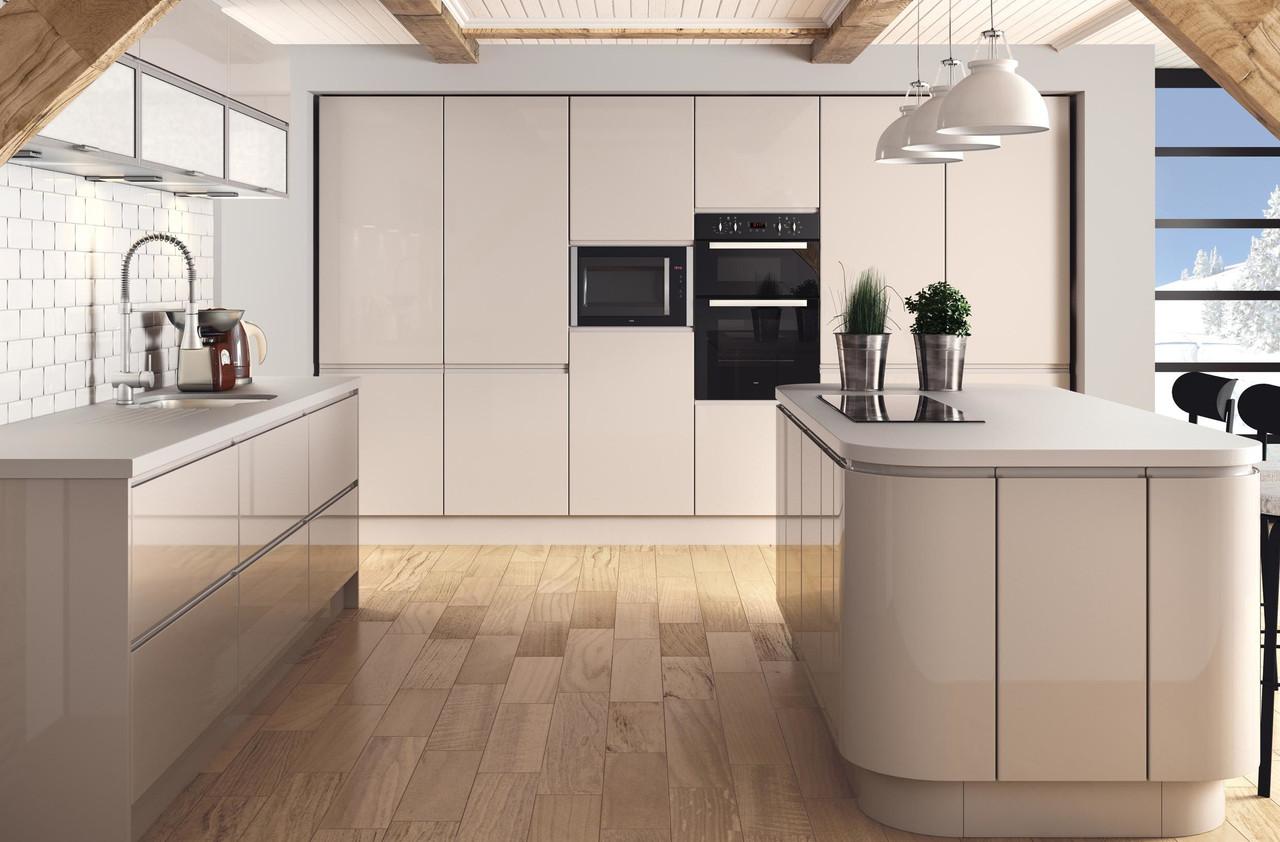 Premium kitchens kitchen units premium kitchen for High gloss kitchen units