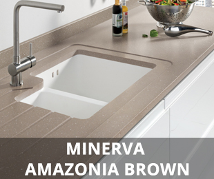 Minerva Amazonia Brown Worktop