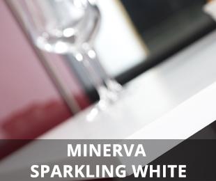 Minerva Sparkling White Worktop