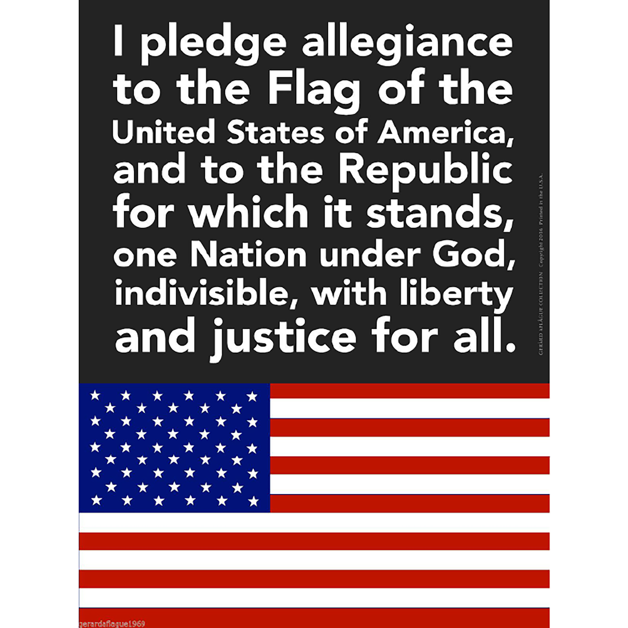 an analysis of the pledge of allegiance to america Essay about the pledge in the pledge of allegiance should be reinstated be ringing with the chorus of america's youth delivering the pledge in an almost.
