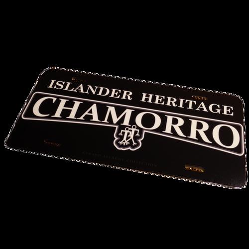Chamorro Islander Heritage License Plate - 6\