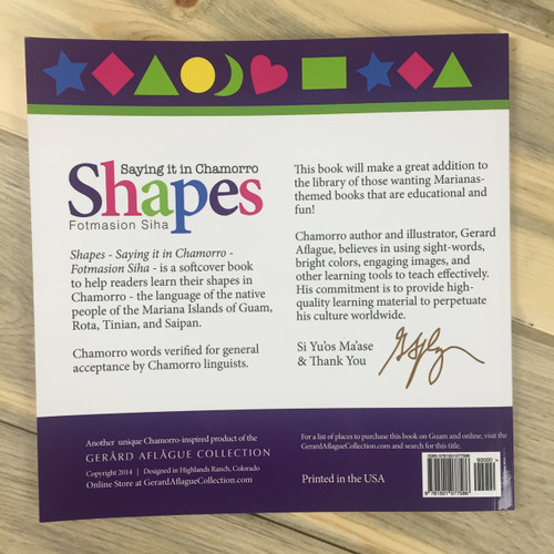 Shapes Saying It In Chamorro Fotmasion Siha Softcover
