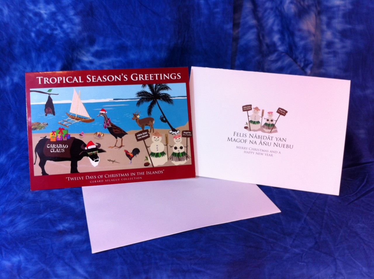 Guam Products 12 Days Of Chamorro Christmas Greeting Cards