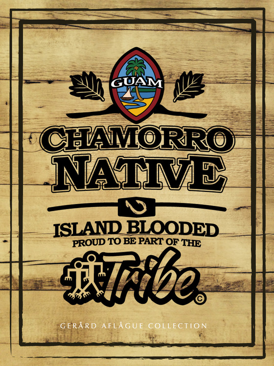 Chamorro Native Guam Seal Island Blood Tribe Poster