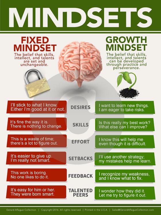 Growth Mindset Poster 18x24