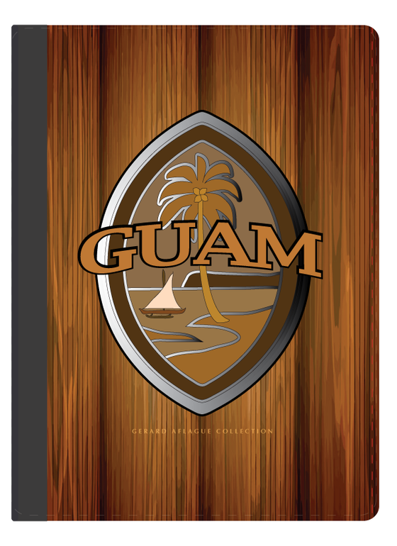 Guam Gifts Guam Products I Pad Case Brown Modern