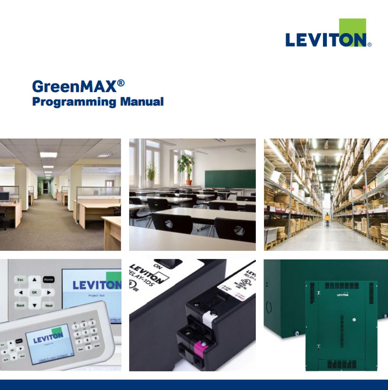Leviton Greenmax Programming Manual - GoKnight