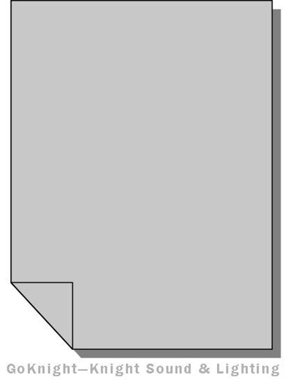 Lee Filters Lighting Gel Sheet 209 0.3 ND Neutral Density