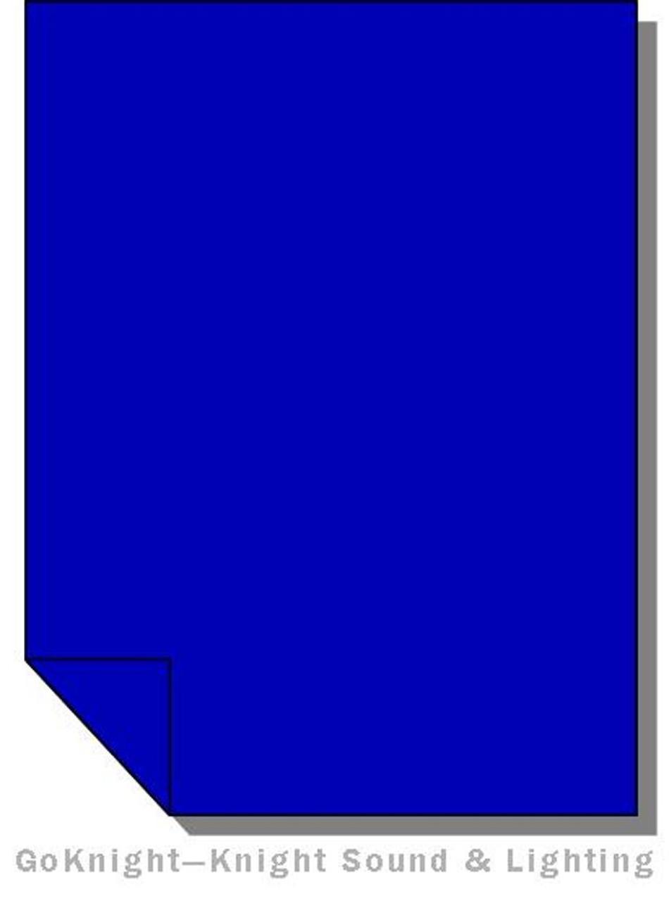 """Lee Filters Lighting Gel Roll 071 Tokyo Blue (Lee 071 roll (2""""))"""