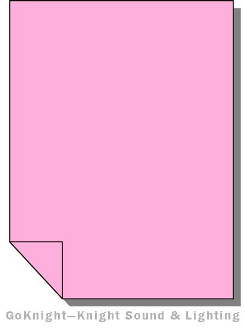Lee Filters Lighting Gel Roll 794 Pretty 'N Pink
