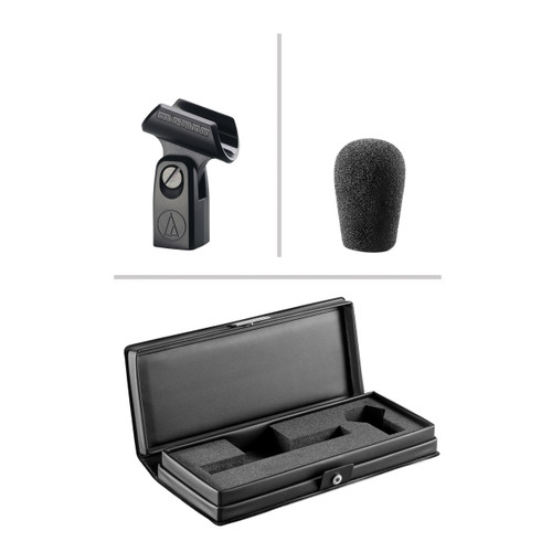 Audio-Technica AT4041  Small Diaphragm Condenser Microphone, Cardioid (Included Accessories)