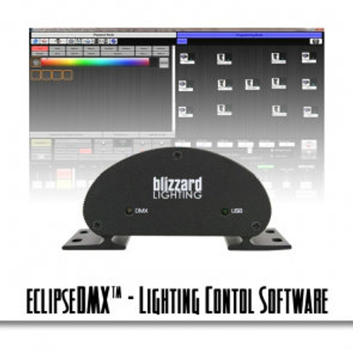 Blizzard Lighting Eclipse DMX Touch Screen Lighting Control Software for DJs