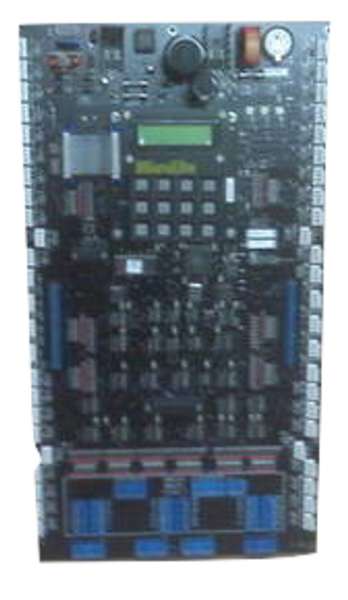 MicroLite 600 Series Relay Panel:  Backplane & LCU