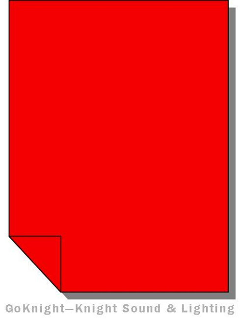 Lee Filters 182 Light Red Lighting Gel Sheet