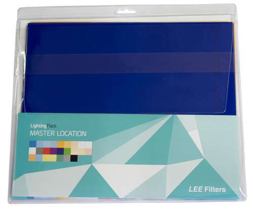 """Lee Filters Master Location Pack, 36 gel sheets, 10""""x12"""""""