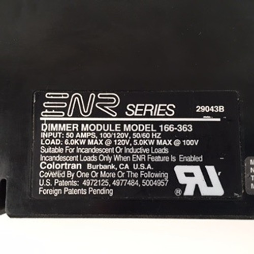 Colortran ENR Dimmer Module Model 166-363