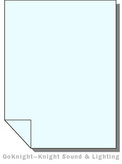 Lee Filters 203 Quarter C.T. Blue Lighting Gel Sheet