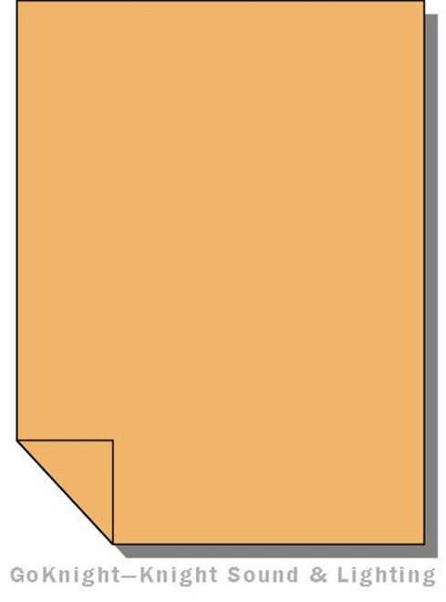 Lee Filters 207 Full CT Orange + .3ND Lighting Gel Sheet