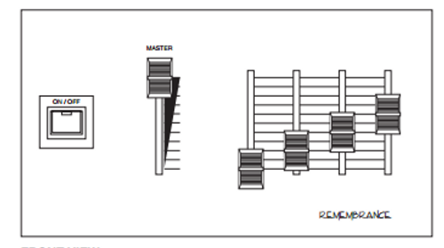 Leviton Remembrance RMB81-017-104 DMX Control Station Master 4; repair
