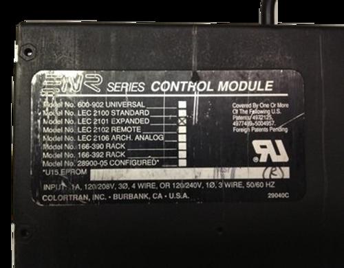 Leviton Colortran Expanded Viewpoint control module LEC 2101