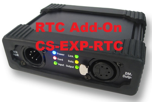 Interactive Technologies CueServer Express Real-Time Clock Software Add-On CS-EXP-RTC