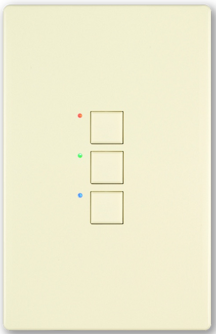 Interactive Technologies CueStation Mystique Passive 3-Button (ST-MP3-xx-yy)