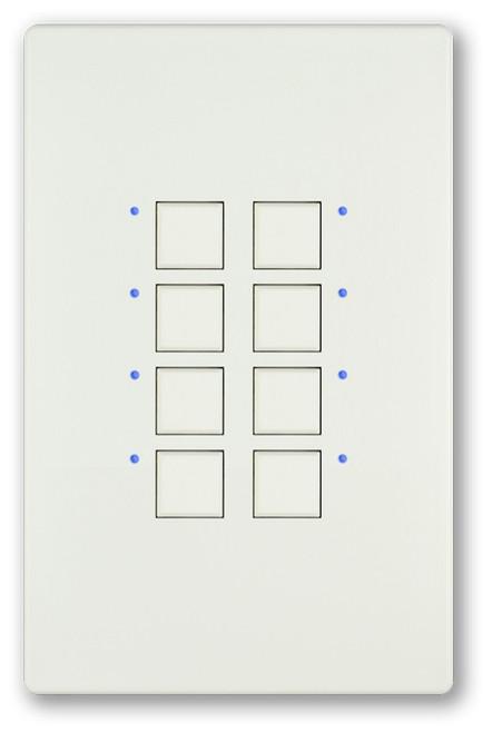 Interactive Technologies CueStation Mystique Passive 8-Button (ST-MP8-xx-yy)