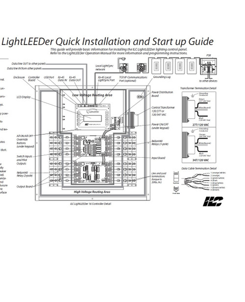 ILC LightLEEDer quick install and start up guide
