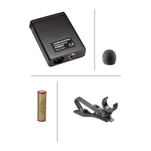 Audio-Technica 803 clip-on microphone w/ phantom power