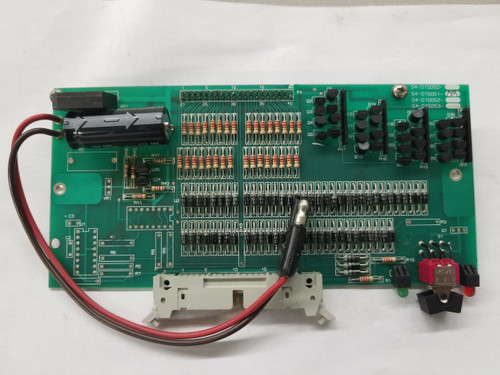 PCI Control Keeper Override Card 54-015051-02