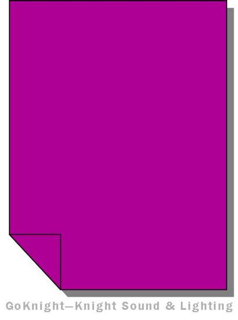 Lee Filters Lighting Gel Sheet 797 Deep Purple