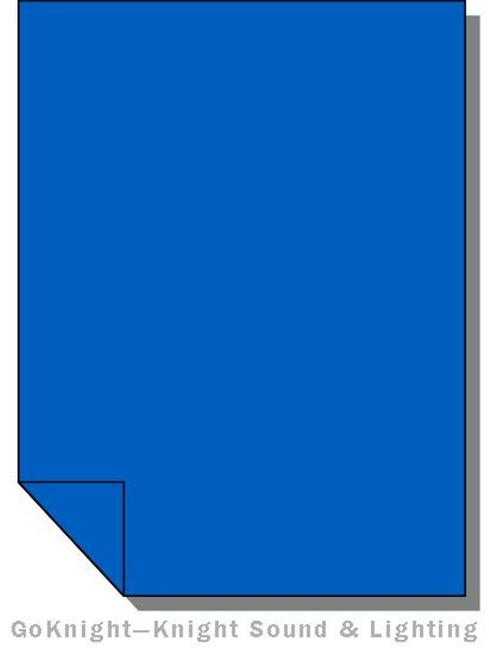 Lee Filters Lighting Gel Sheet 120 Deep Blue