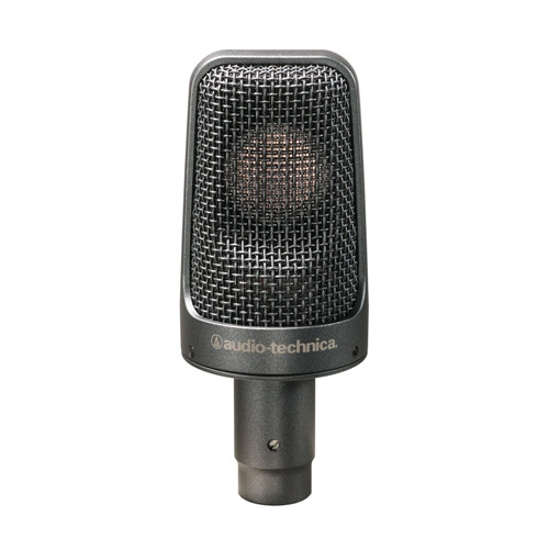 Audio-Technica Artist Elite AE3000 Cardioid Condenser Instrument Microphone (AT AE3000)