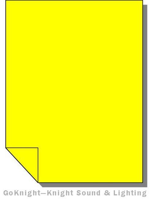 """Lee Filters Lighting Gel Roll 010 Medium Yellow (Lee 010 roll (2""""))"""