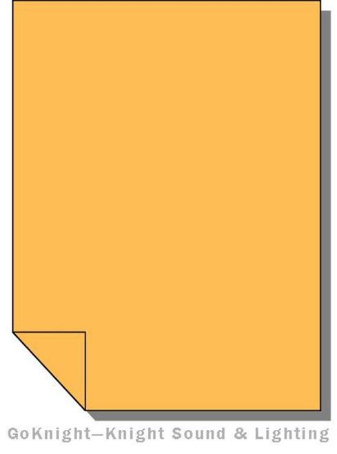 """Lee Filters Lighting Gel Roll 020 Medium Amber (Lee 020 roll (2""""))"""