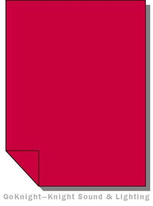 """Lee Filters Lighting Gel Roll 027 Medium Red (Lee 027 roll (2""""))"""
