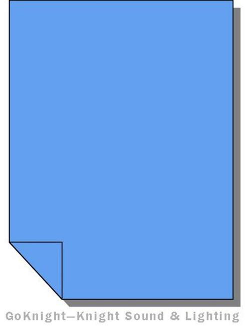 "Lee Filters Lighting Gel Roll 075 Evening Blue (Lee 075 roll (2""))"
