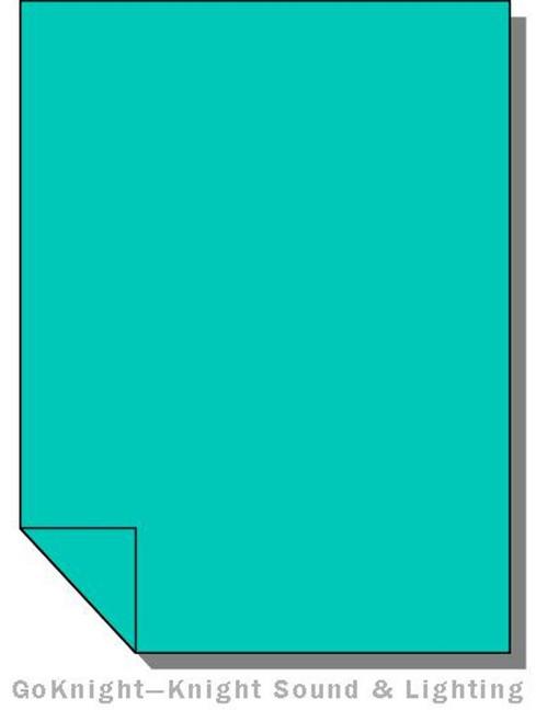 """Lee Filters Lighting Gel Roll 116 Medium Blue Green (Lee 116 roll (2""""))"""