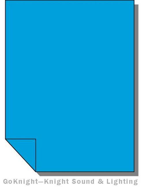 """Lee Filters Lighting Gel Roll 132 Medium Blue (Lee 132 roll (2""""))"""