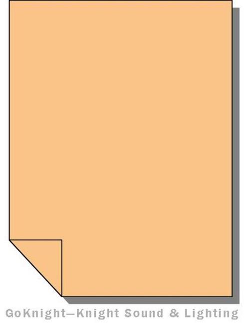 """Lee Filters Lighting Gel Roll 204 Full CTO Orange (Lee 204 roll (2""""))"""