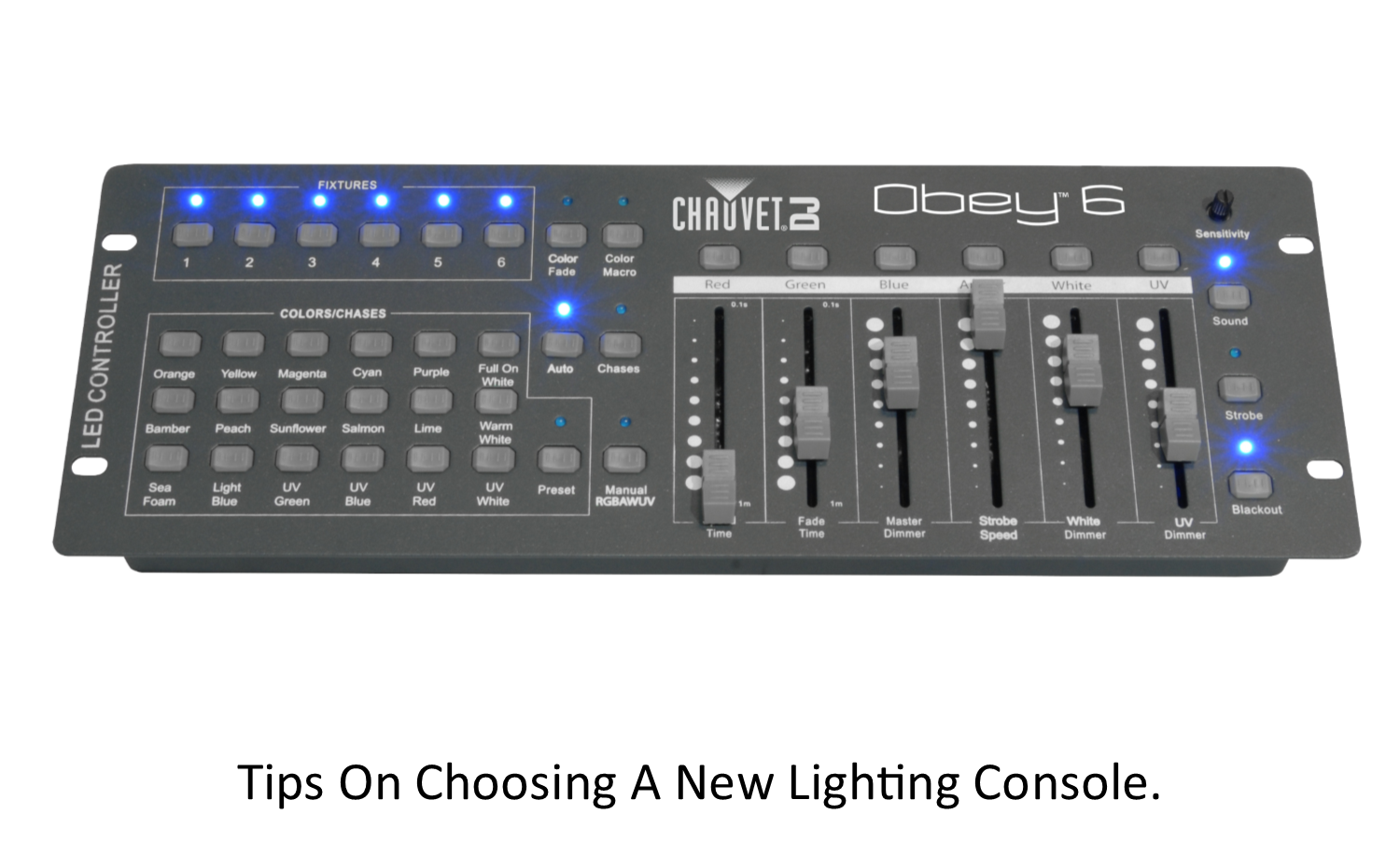 Tips on choosing a new lighting console.