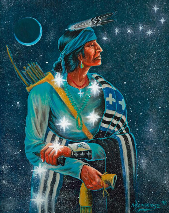 Nahookos Bika' - Male Warrior, Protector Of The Home