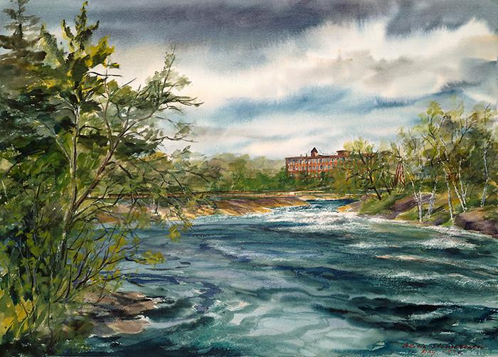 Cabot Mill, Brunswick, Maine