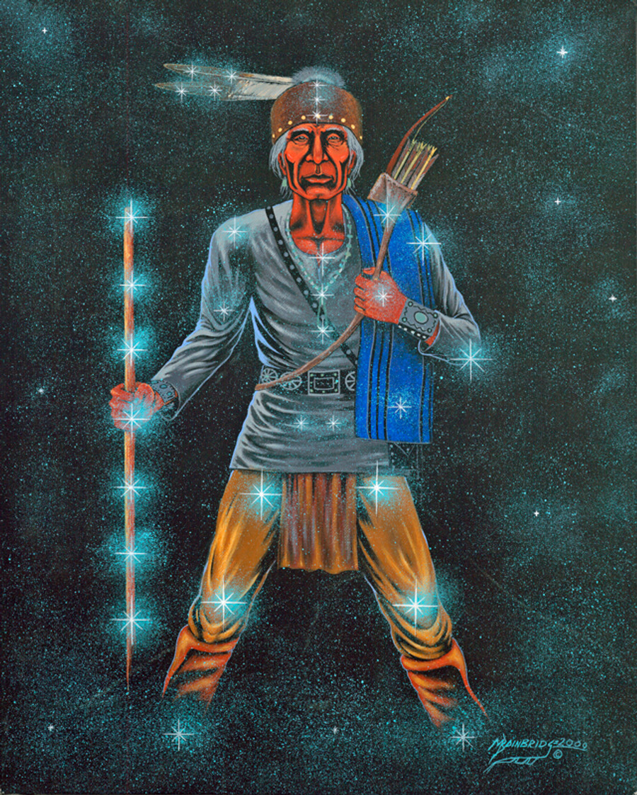 Hastiin Sik'ai'ii - Man With Solid Stance, Thinker, Planner