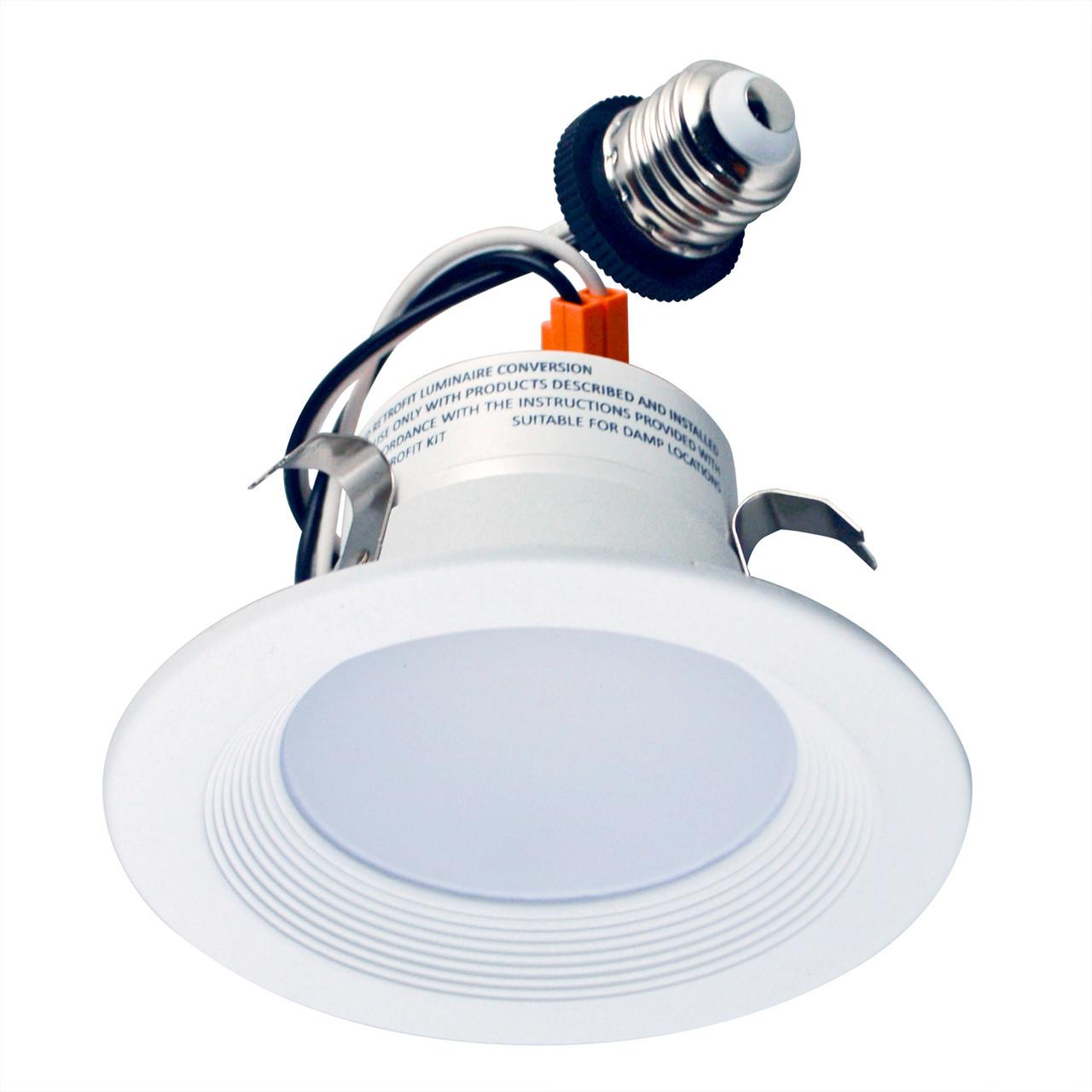 led lighting retrofit 4 led recessed retrofit kit reflector 5000k